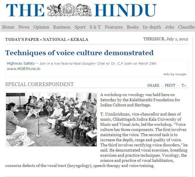 Press Reviews   Voiceculture, Voice modulation, Online Music